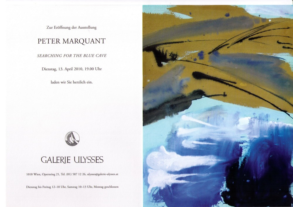 Peter Marquant exhibition in Viena