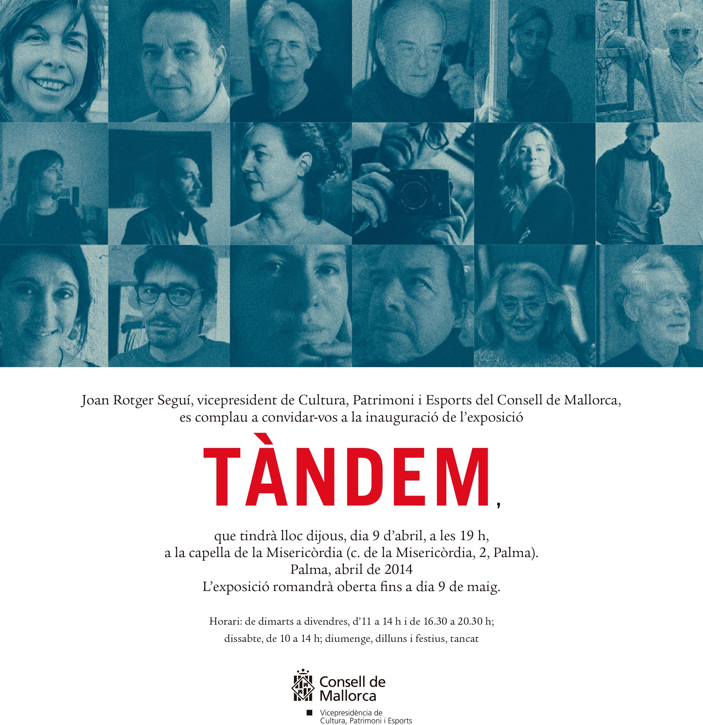 Exposición colectiva TÀNDEM